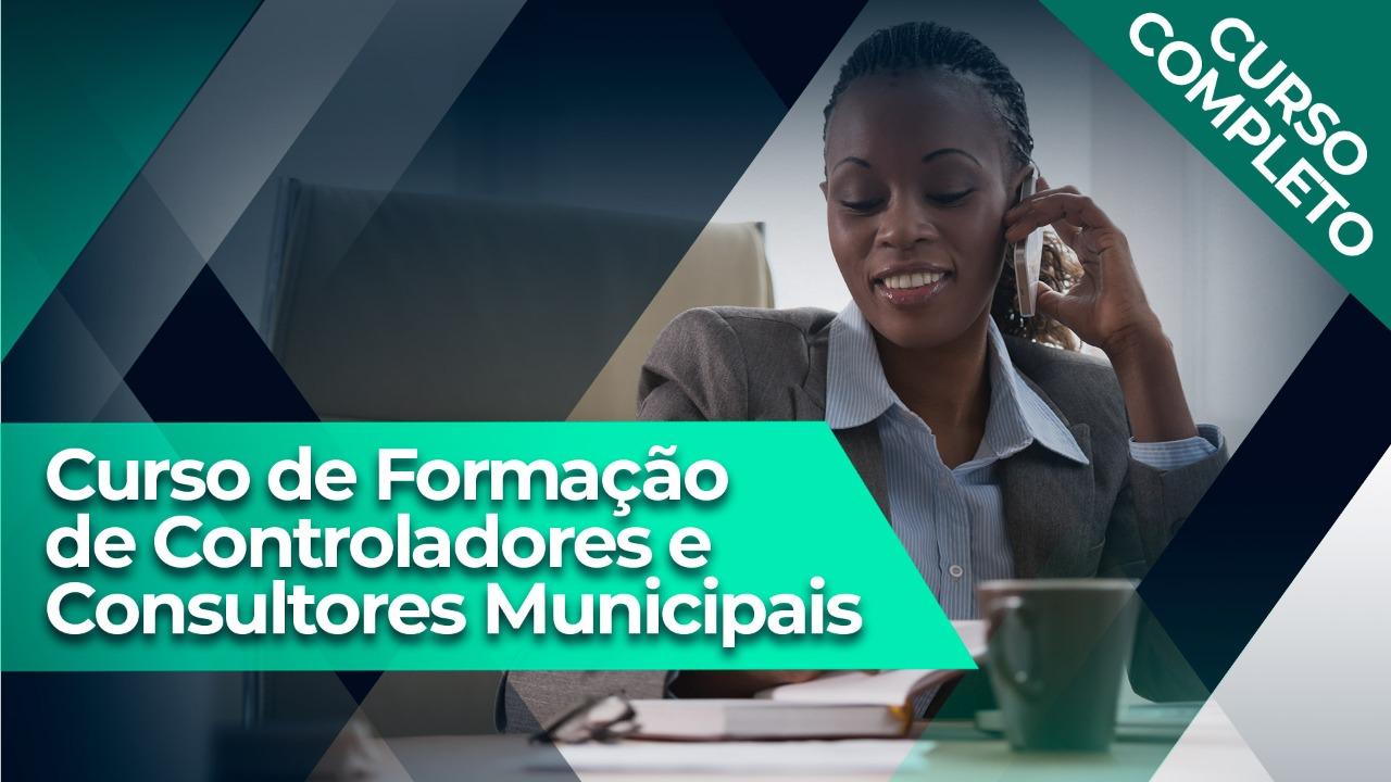 Formação de Controladores e Consultores Municipais - À VISTA
